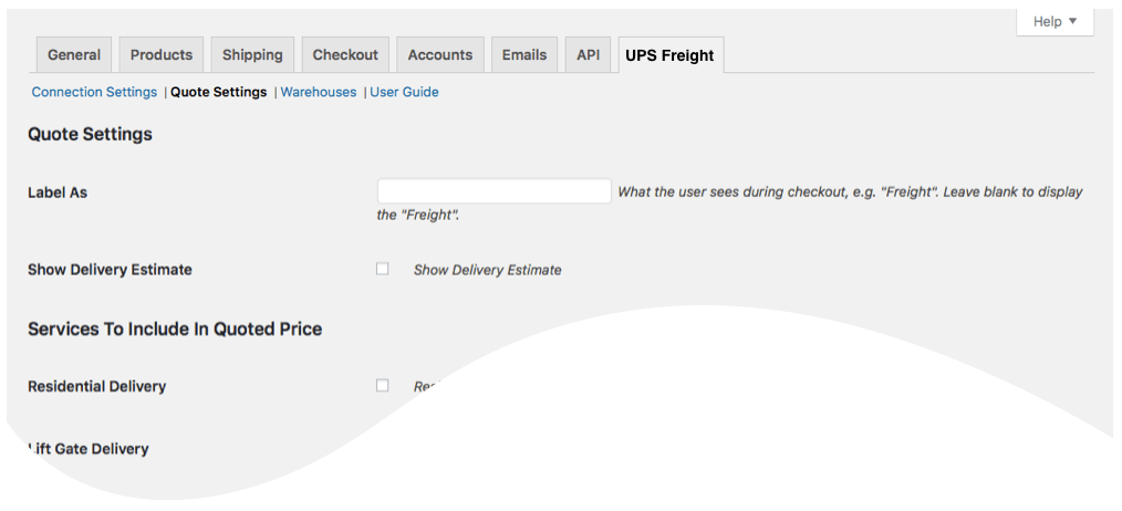 Ups Freight Quote Unique Woocommerce  Ups Ltl Freight  Eniture Technology